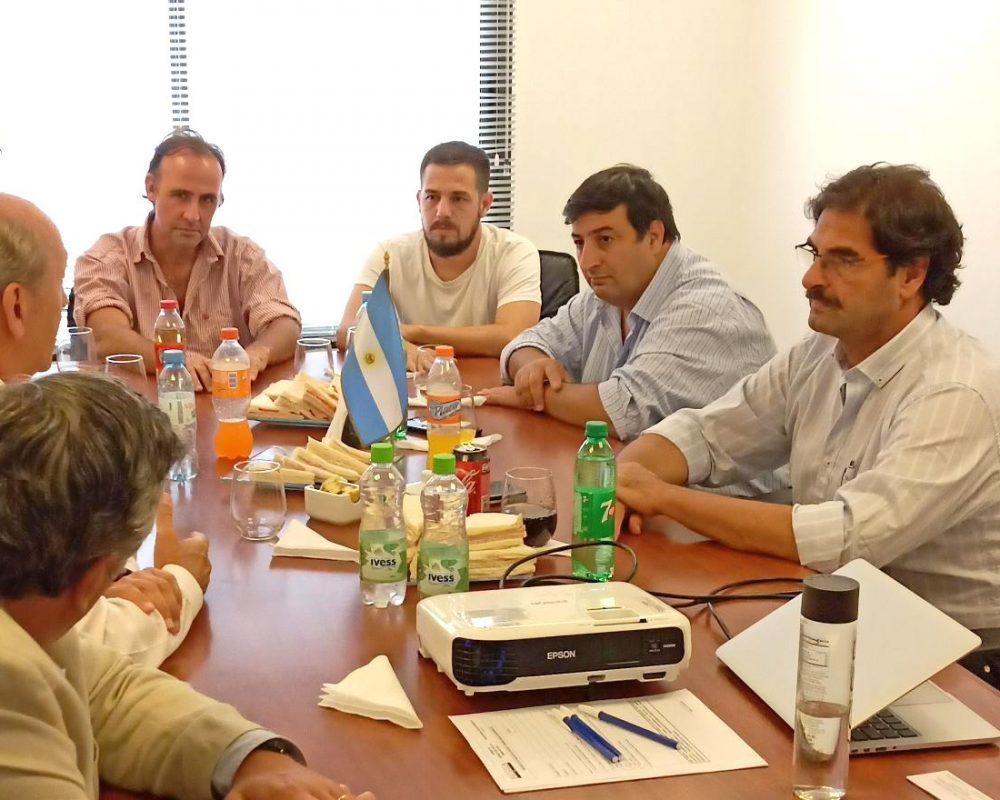Escobar recibió la visita del Ministro de Agroindustria de la Provincia de Buenos Aires, Leonardo Sarquís.