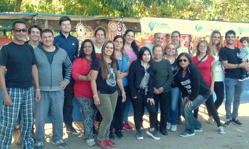 Artesanos y emprendedores convocados por el municipio participaron de la feria Sabores del Mundo