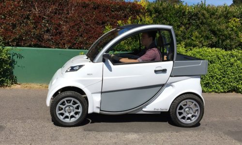 El Sero Electric es el primer auto eléctrico fabricado en Argentina con permiso para circular