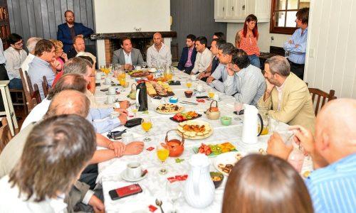 Polo Tecnológico de Escobar: representantes de la industria del software y del conocimiento se reunieron con Sujarchuk