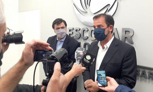 Reunión entre Ariel Sujarchuk y el ministro de Trabajo de la Nación, Claudio Moroni, para potenciar los programas de empleo en el partido de Escobar