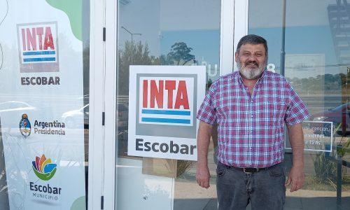 """Alfonso Ottaviano, Responsable de la nueva agencia del INTA en Escobar: """"las puertas están abiertas para acompañar el desarrollo de todos los productores de la zona"""""""